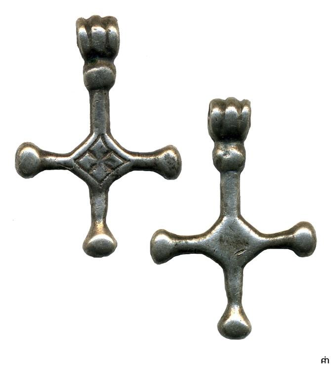 Нательный крест. XI–XIII века