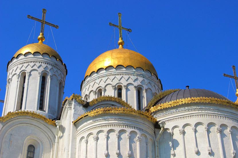 Кресты Успенского собора во Владимире. XII век