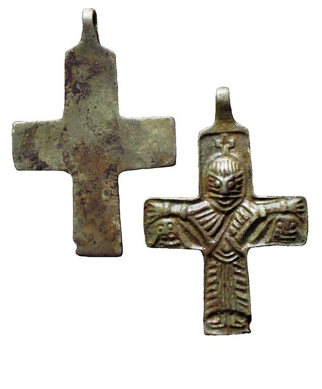 Древнейший крест «скандинавского типа» с Распятием