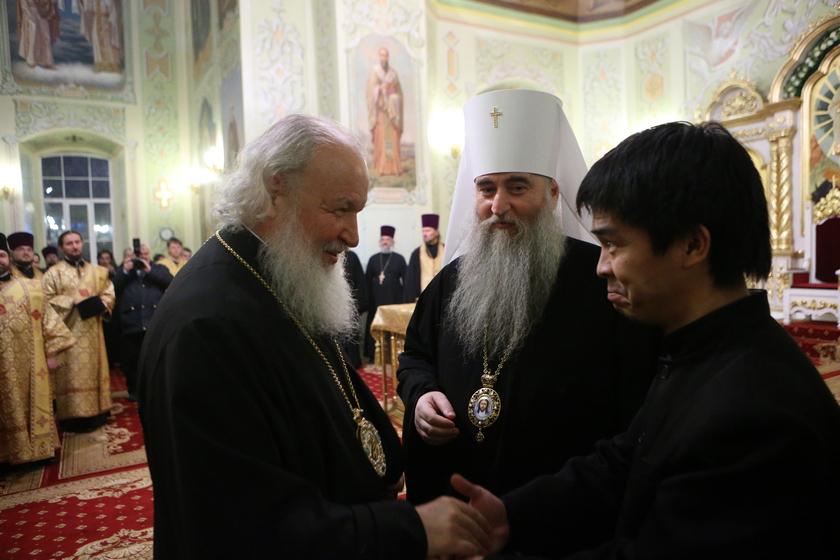 Визит Патриарха Кирилла в Саратовскую митрополию