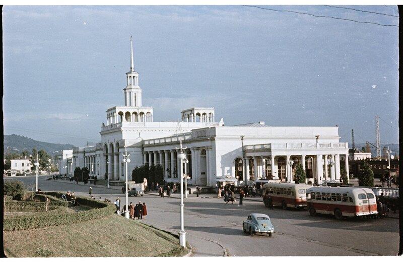 Советский Сухуми. 1958 год.