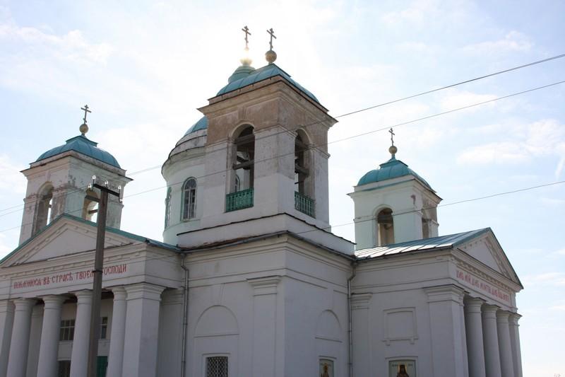 Свято-Троицкий храм с. Золотое