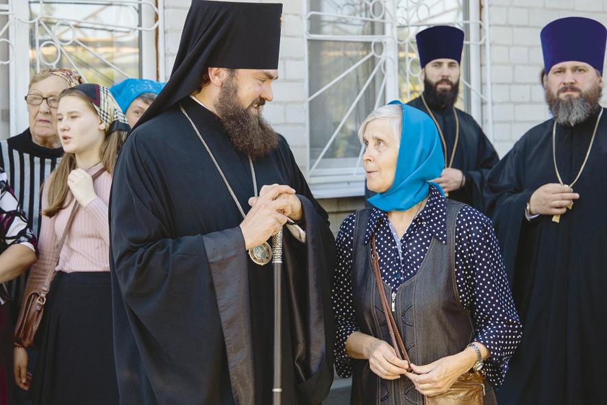 Посещение Успенского храма в Пятигорске