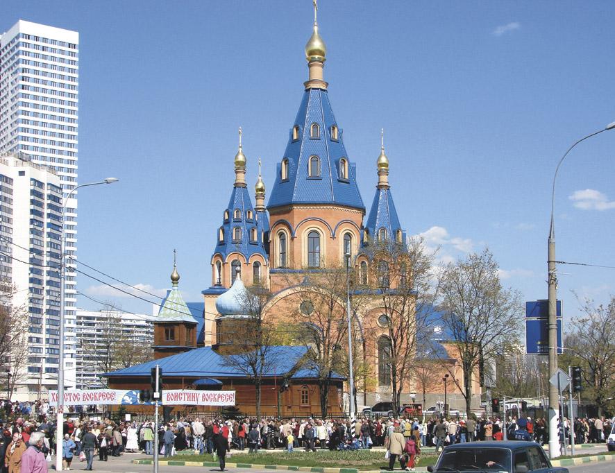Храм в честь иконы Божией Матери «Державная» в Чертанове стал для семьи Екатерины родным