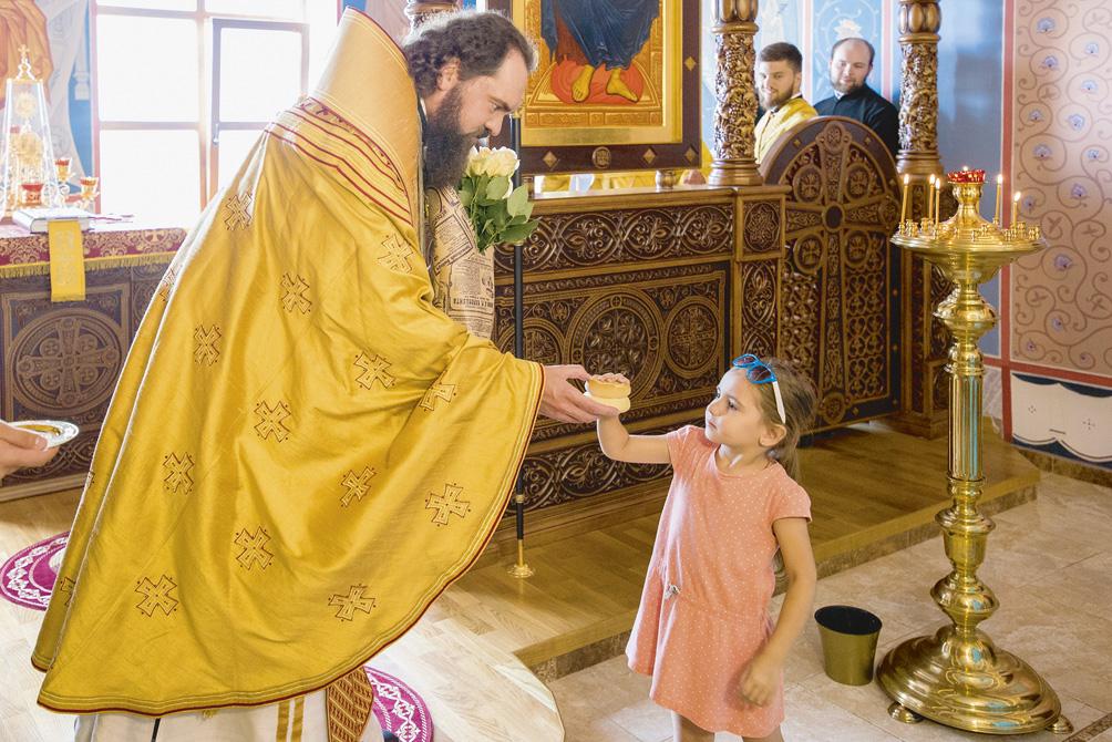 В Иверском храме Пятигорского епархиального дома