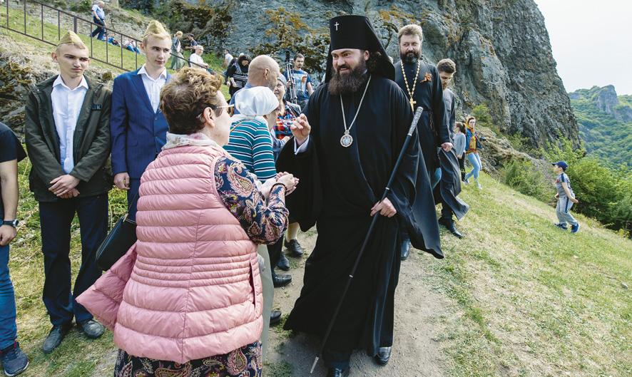 На горе Шоана, в Карачаево-Черкесии