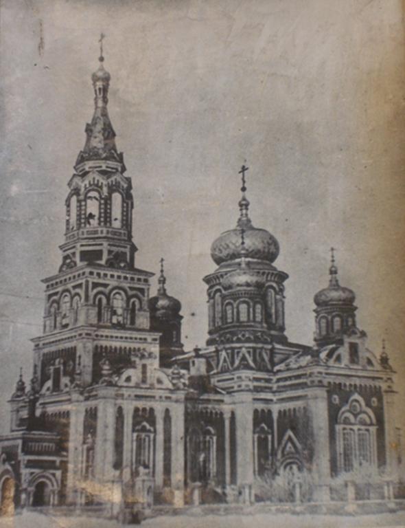 Дореволюционный храм Михаила Архангела в Красном Куте