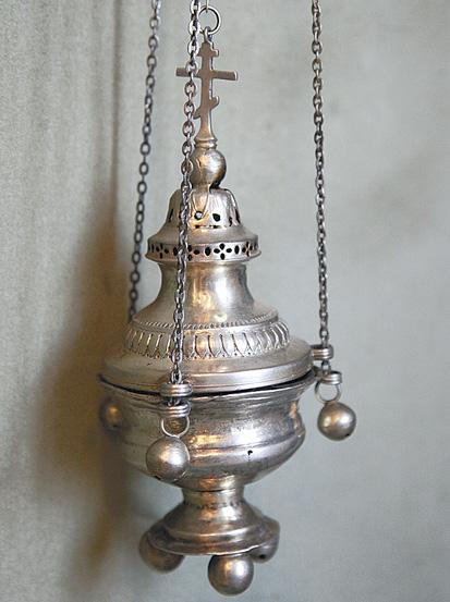 Серебряное кадило. XIX век