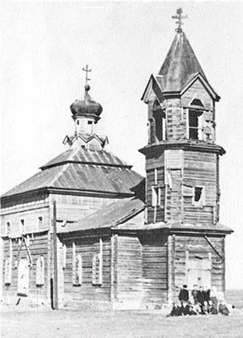 Церковь святого Архангела Михаила в Новой Осиновке до революции