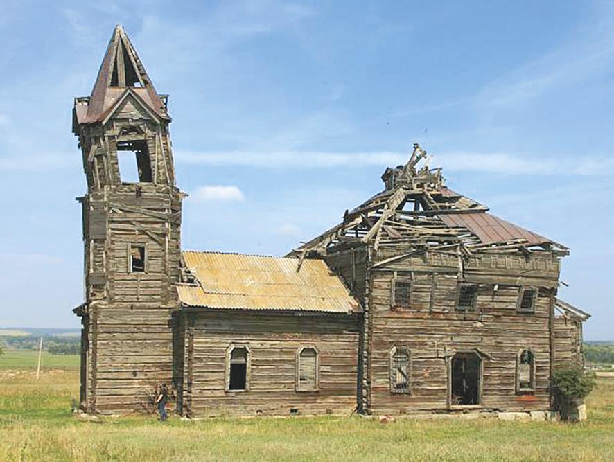 Церковь святого Архангела Михаила в Новой Осиновке сегодня