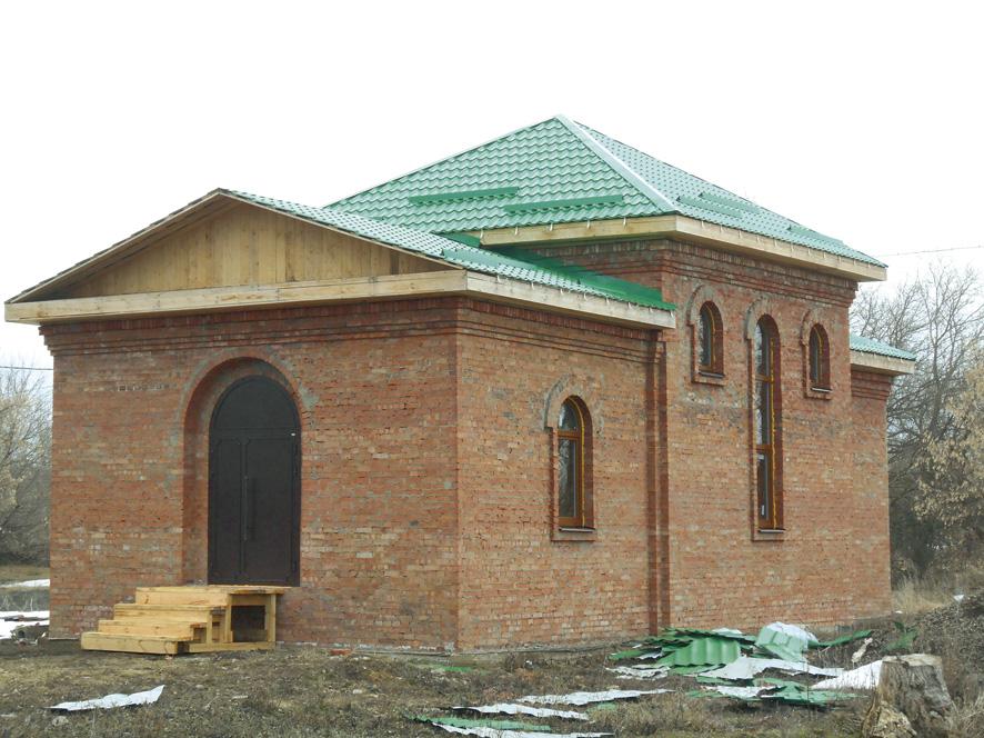 В Озерном строится храм во имя святой блаженной Ксении Петербургской