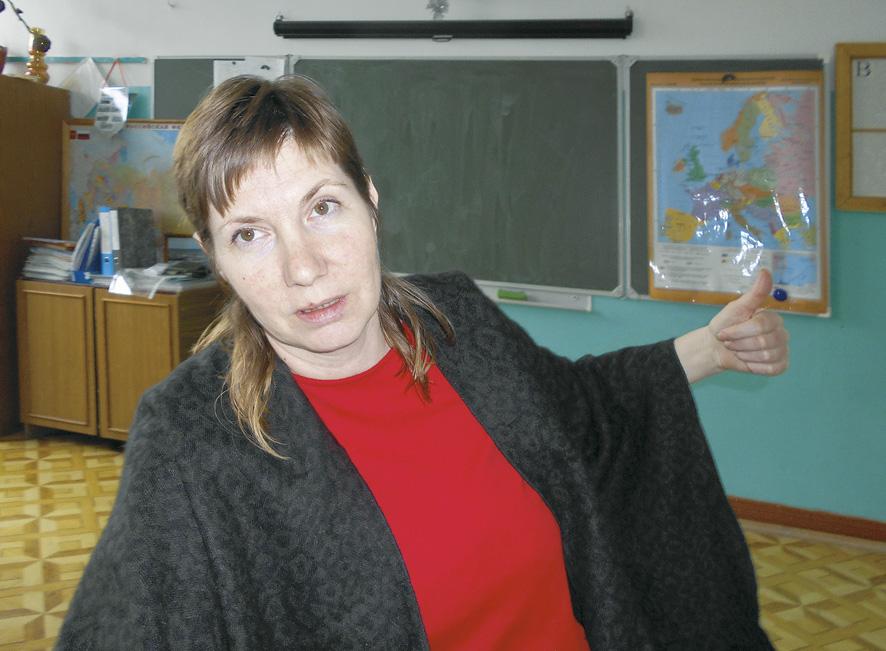 Учитель Татьяна Николаевна Игнатьева - деятельный патриот малой родины