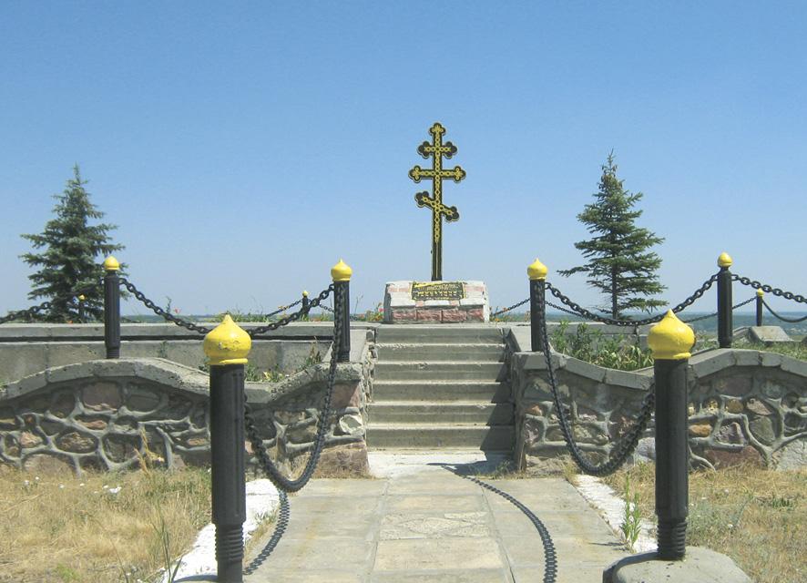 Могила Александра Юрьевича в Озерном