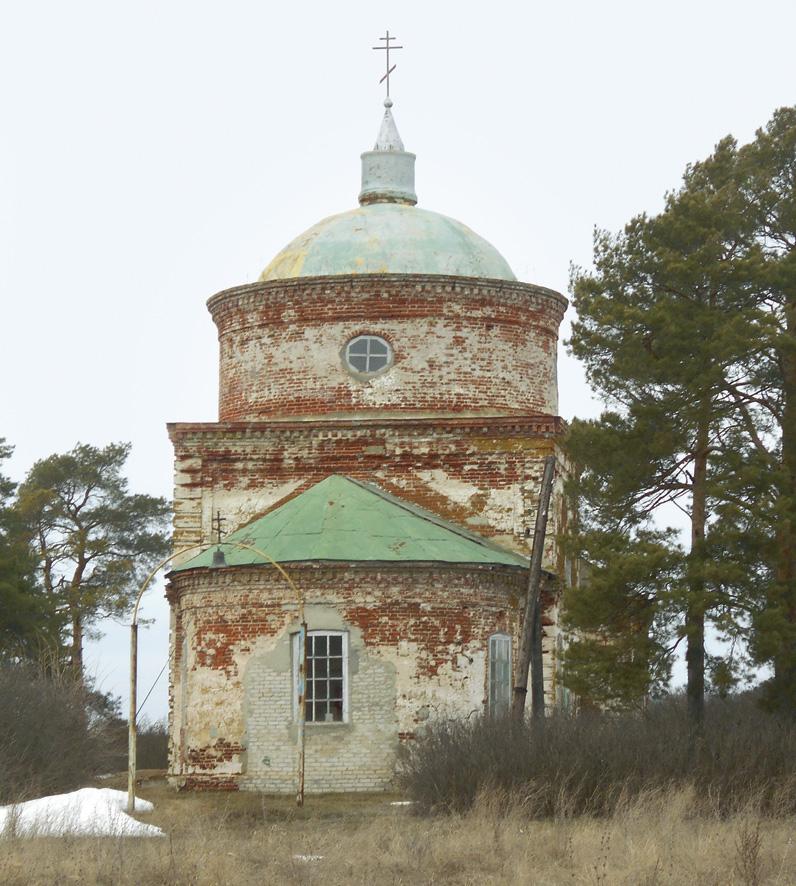 Старинный храм святителя Николая в селе Никольском, ныне Старая Лопуховка