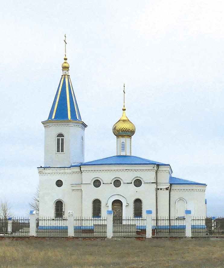 Храм святого Архангела Михаила в Приречном