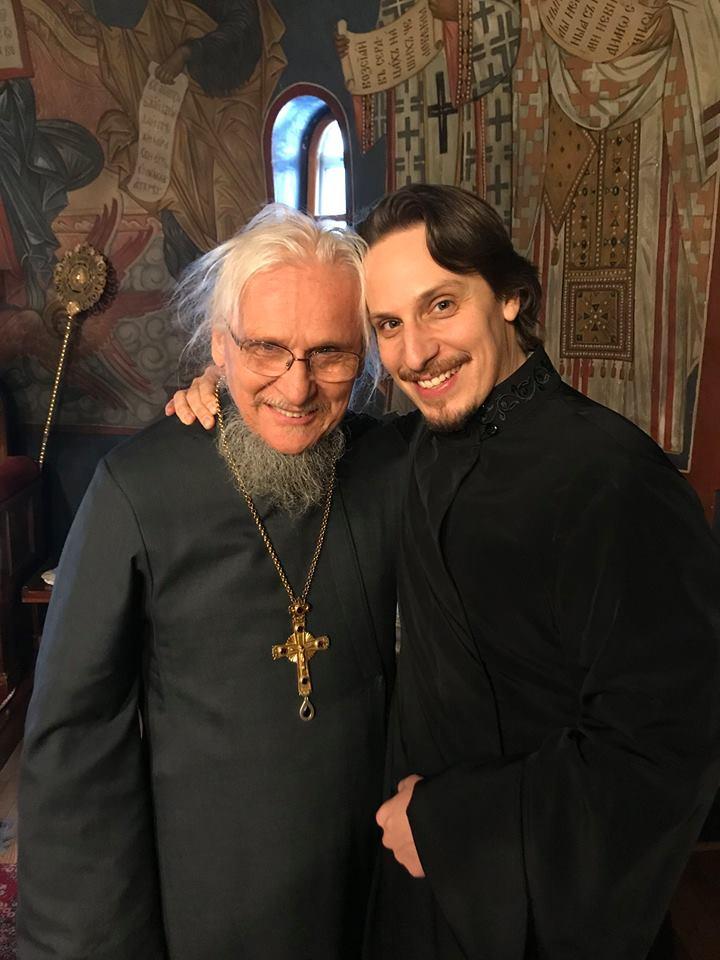 С отцом протоиереем Сергием Котаром