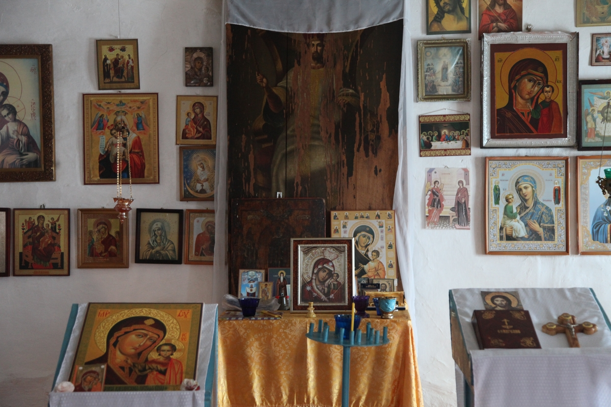 Икона «Спас в силах» - единственная уцелевшая святыня старинного Казанского храма