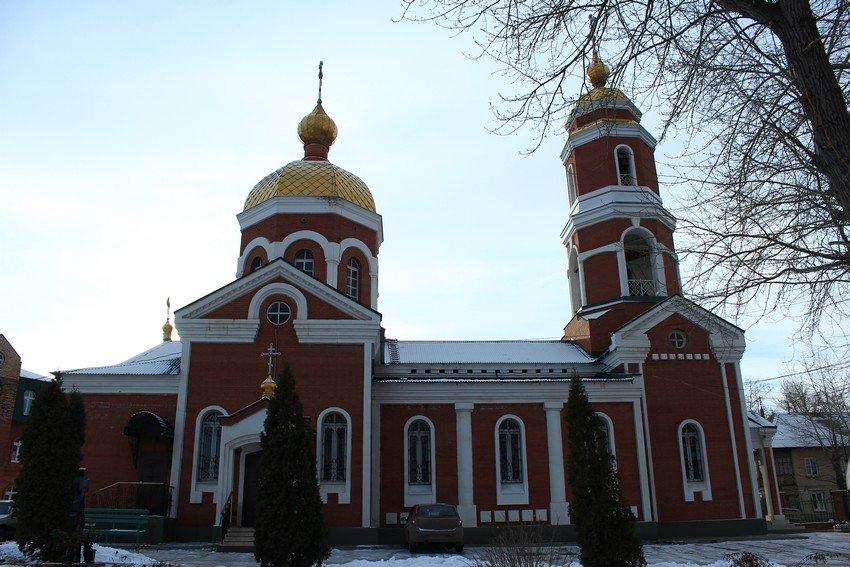 Серафимовский храм в Новокуйбышевске. Современный вид