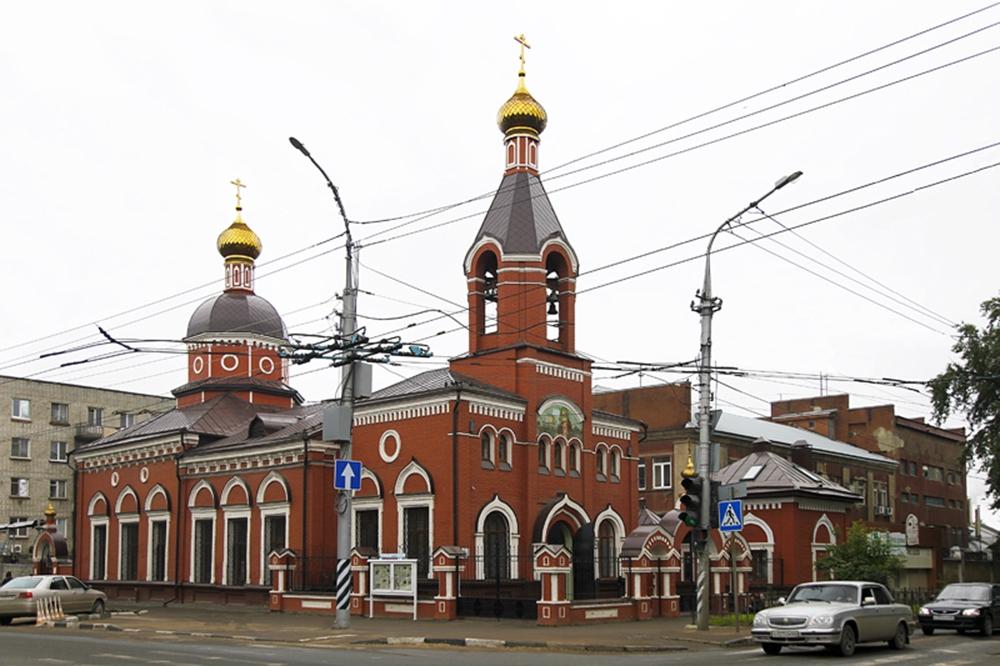 Серафимовский храм в Саратове