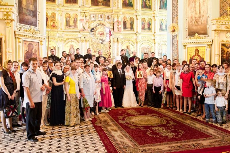 Венчание в церкви саратов
