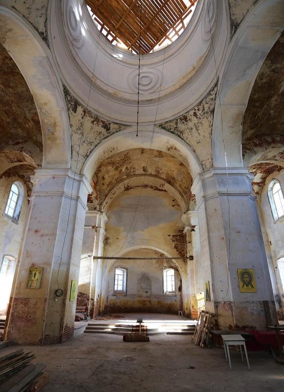 Покровский храм в с. Сокур