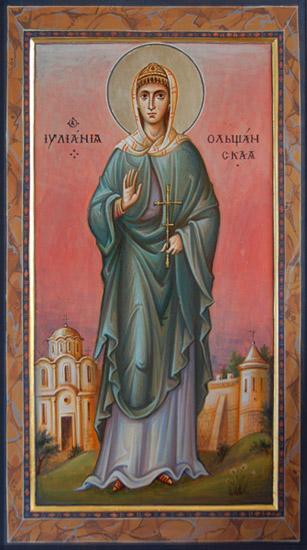 Картинки по запросу прав. девы Иулиании, кн. Ольшанской (XVI)